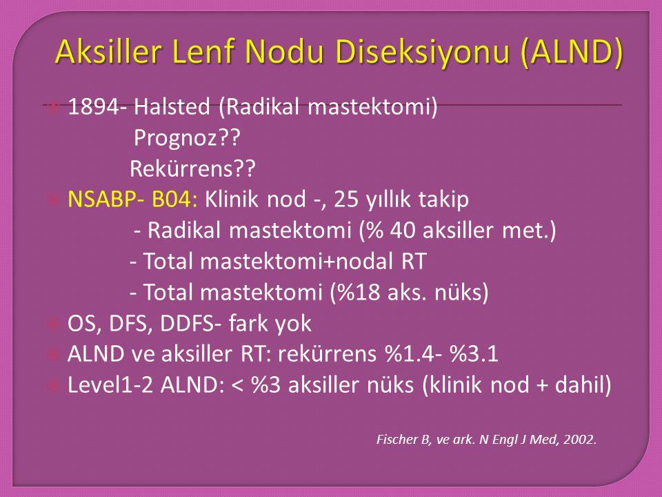 Aksiller Lenf Nodu Diseksiyonu (ALND)