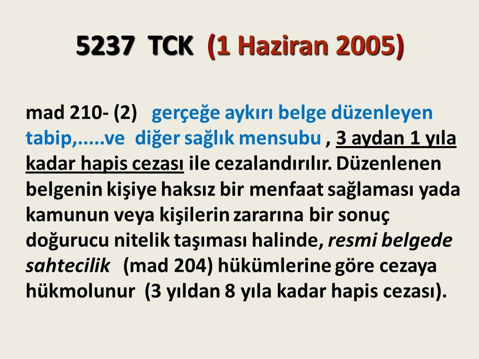5237 TCK (1 Haziran 2005)