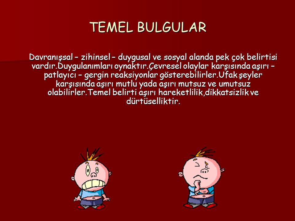 TEMEL BULGULAR