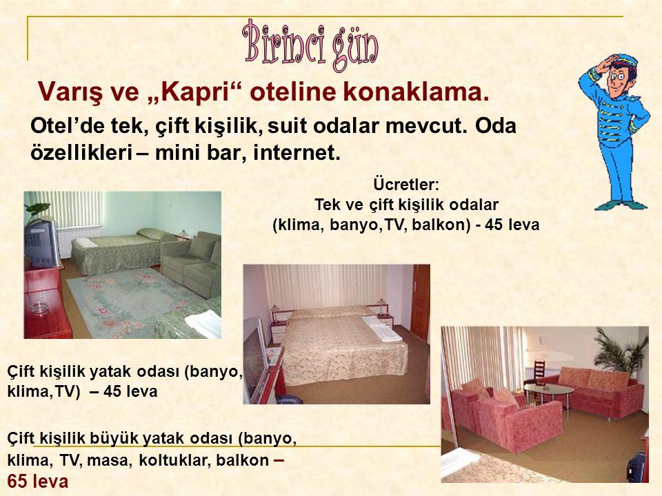 Tek ve çift kişilik odalar (klima, banyo,ТV, balkon) - 45 leva
