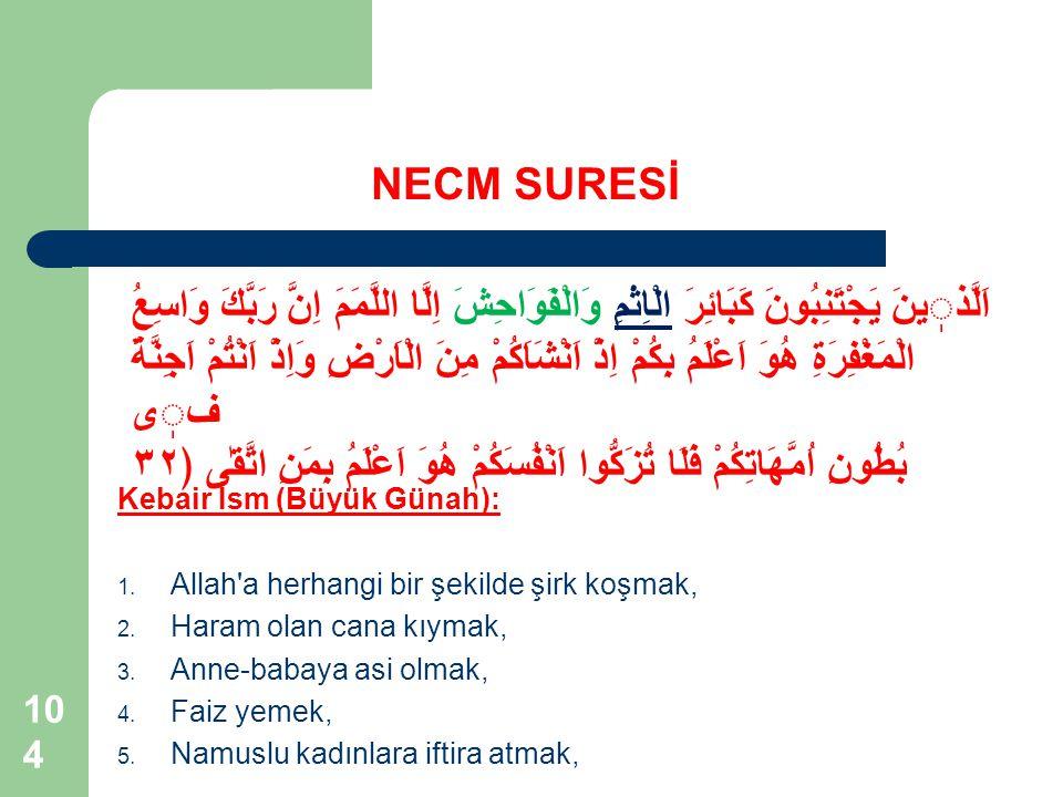 NECM SURESİ