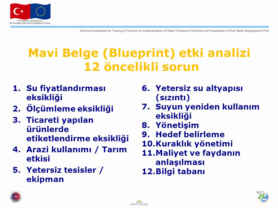 Mavi Belge (Blueprint) etki analizi