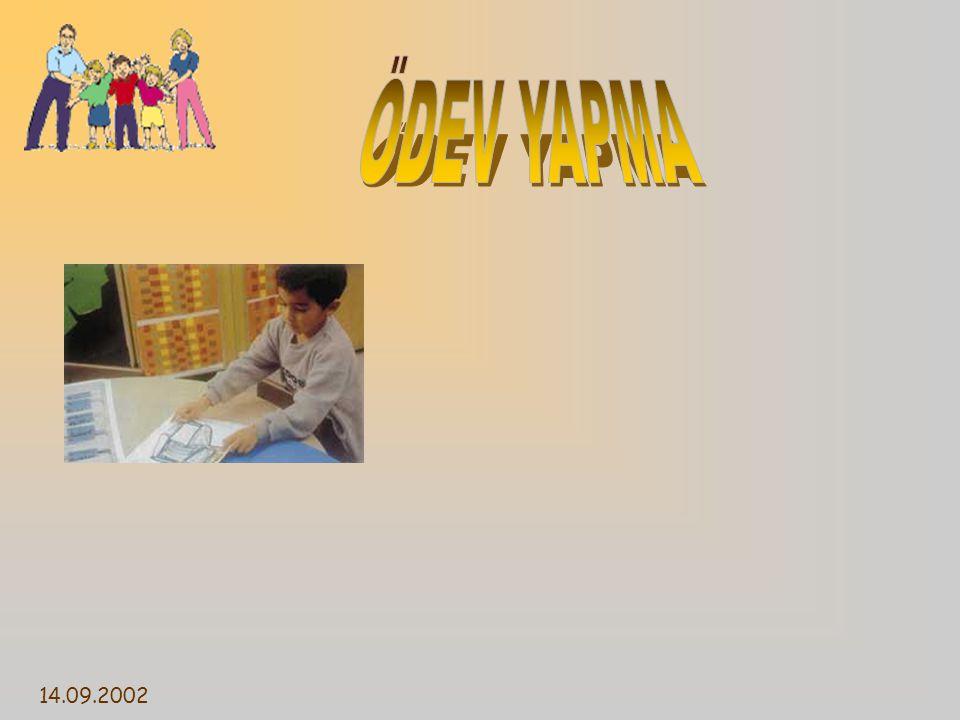 ÖDEV YAPMA 14.09.2002