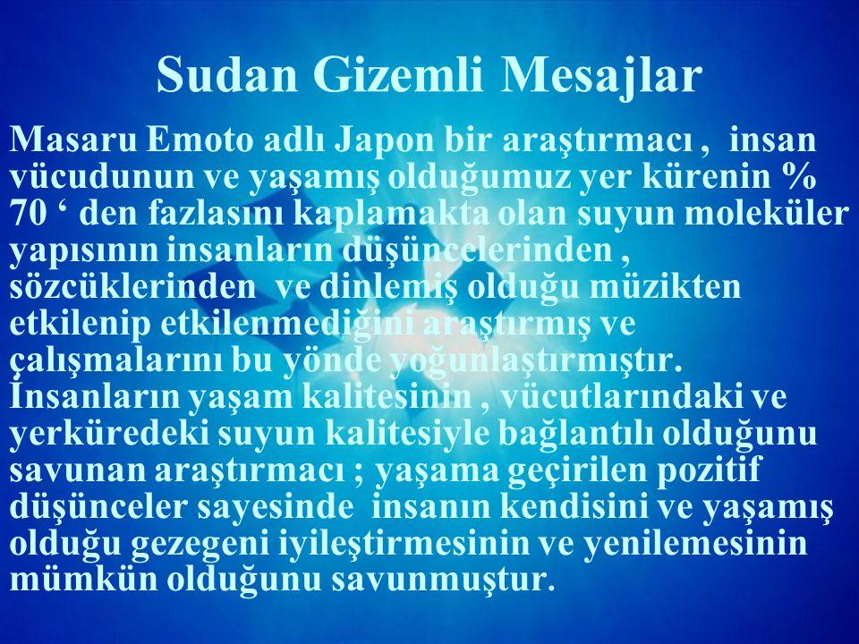 Sudan Gizemli Mesajlar