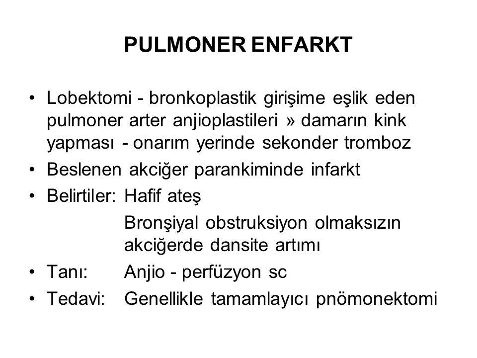 PULMONER ENFARKT