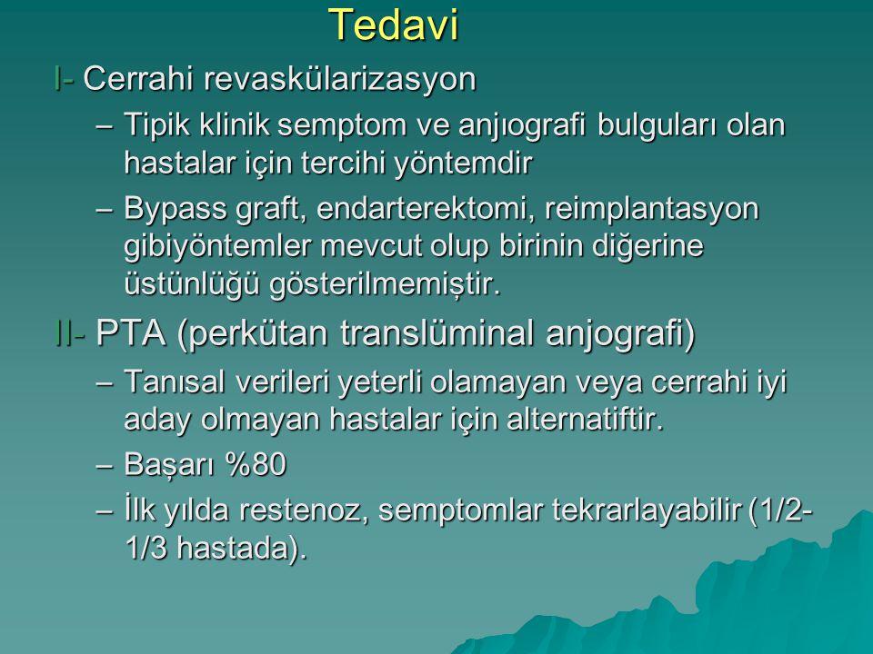 Tedavi II- PTA (perkütan translüminal anjografi)