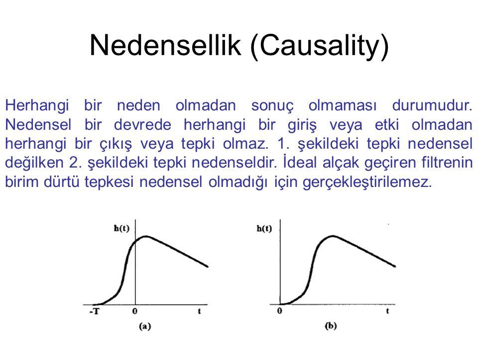 Nedensellik (Causality)