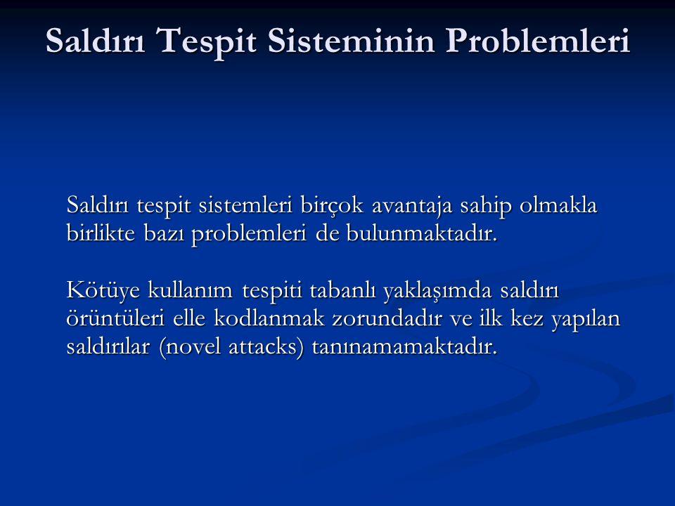 Saldırı Tespit Sisteminin Problemleri