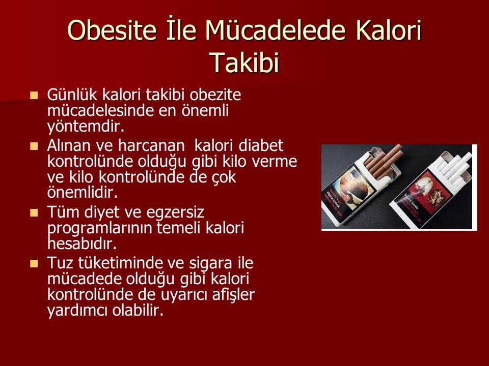 Obesite İle Mücadelede Kalori Takibi
