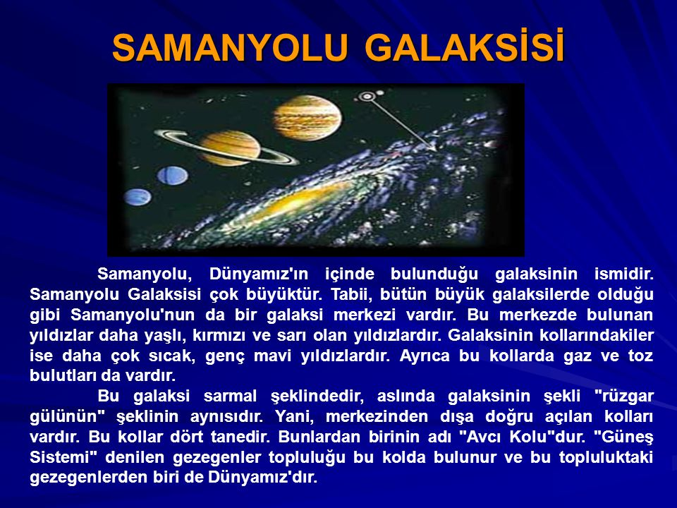 SAMANYOLU GALAKSİSİ