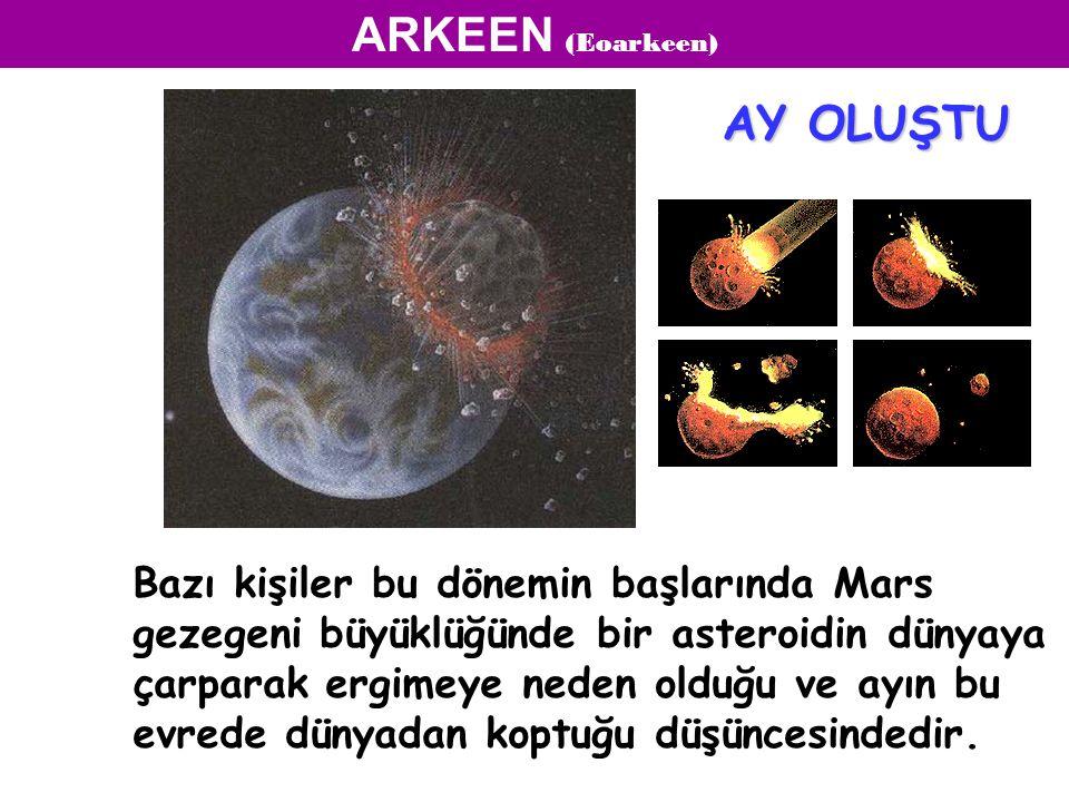 ARKEEN (Eoarkeen) AY OLUŞTU