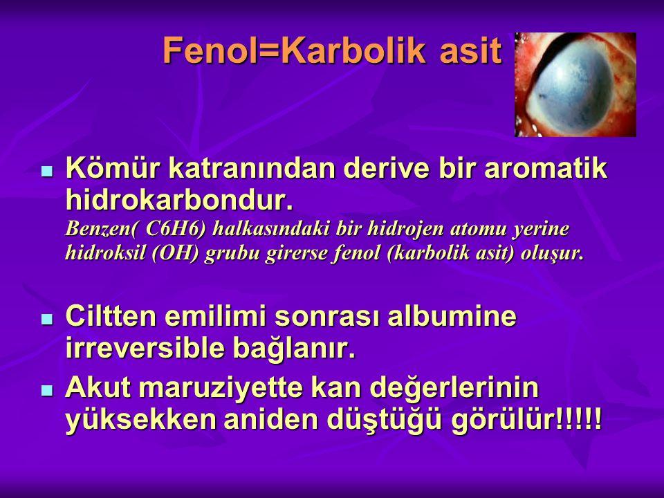 Fenol=Karbolik asit