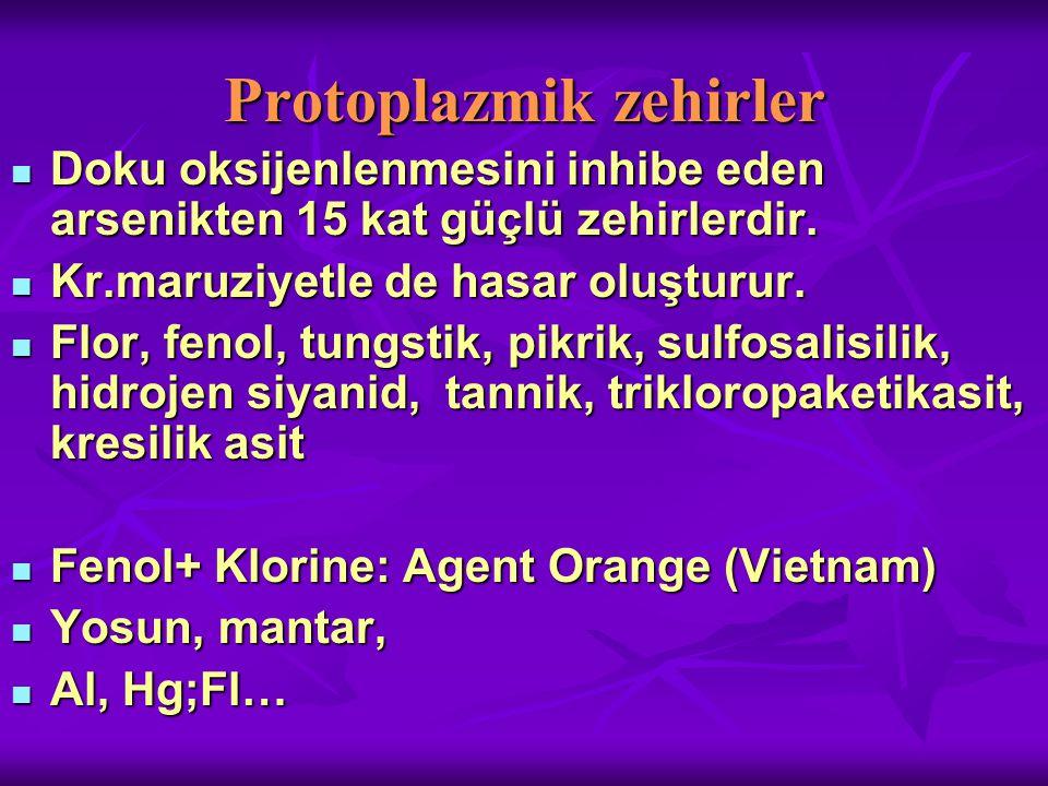 Protoplazmik zehirler