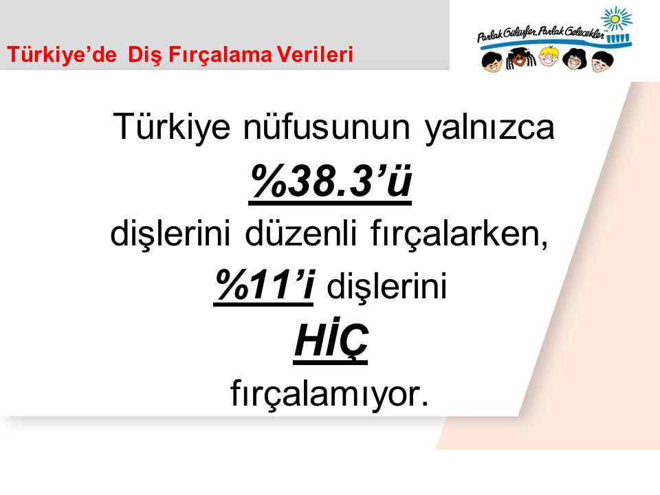 Türkiye'de Diş Fırçalama Verileri