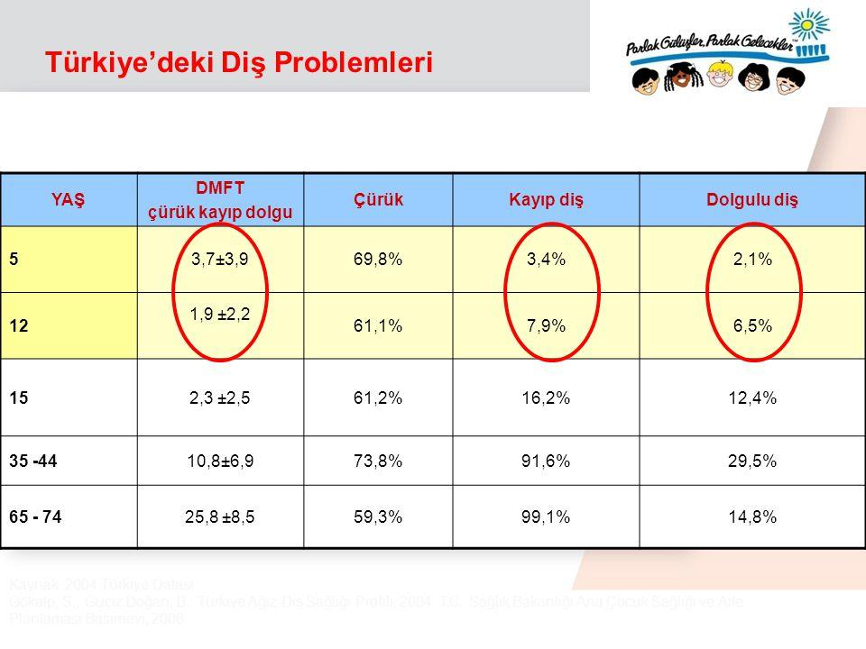 Türkiye'deki Diş Problemleri