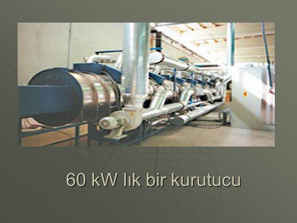 60 kW lık bir kurutucu