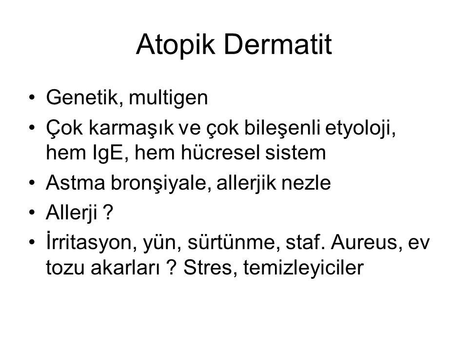 Atopik Dermatit Genetik, multigen
