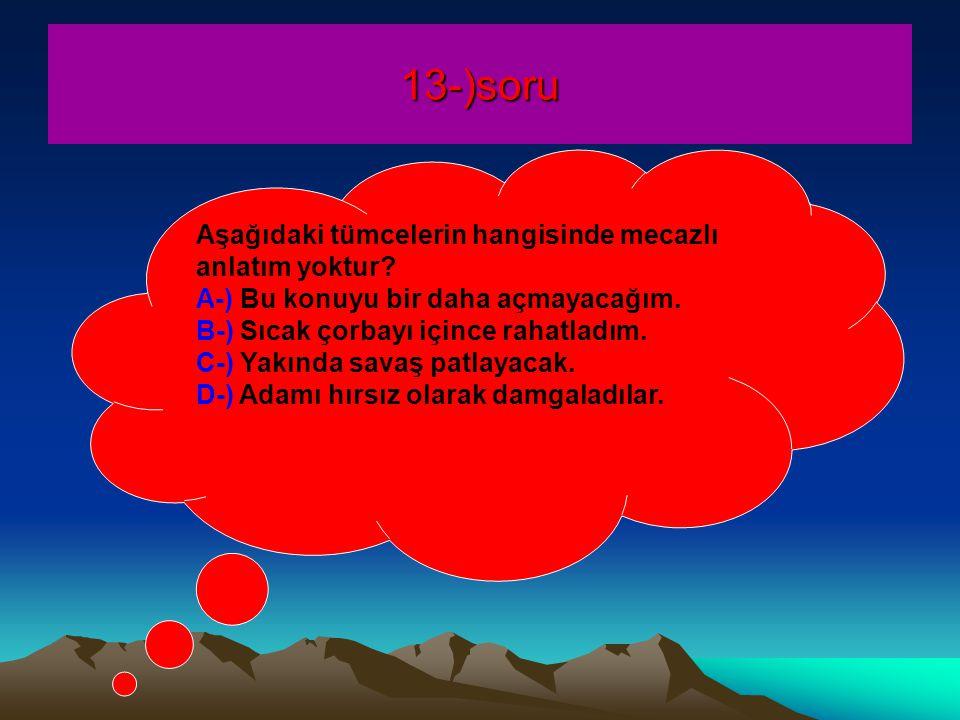 13-)soru