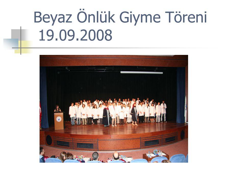 Beyaz Önlük Giyme Töreni 19.09.2008