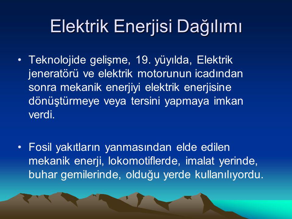 Elektrik Enerjisi Dağılımı