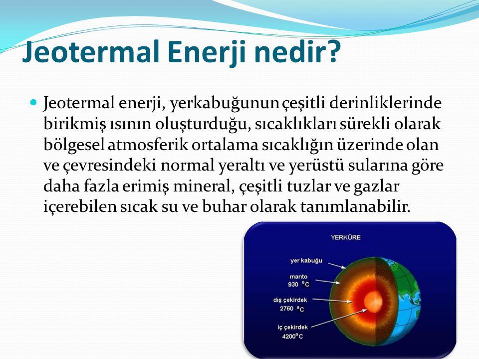 Jeotermal Enerji nedir