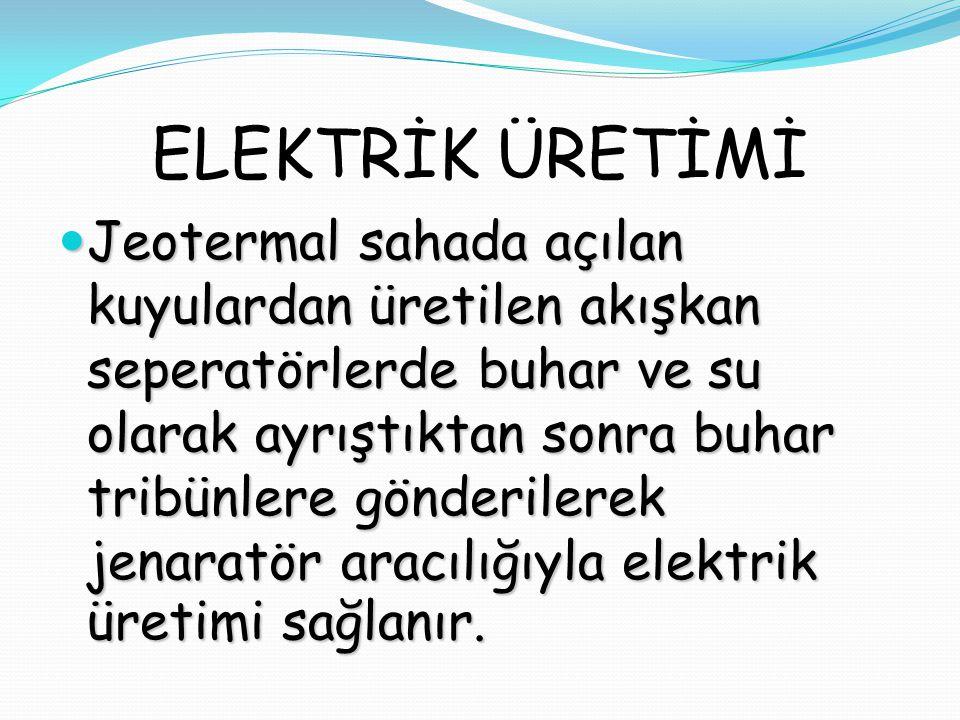 ELEKTRİK ÜRETİMİ