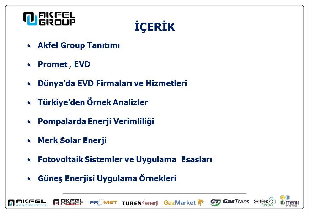 İÇERİK Akfel Group Tanıtımı Promet , EVD