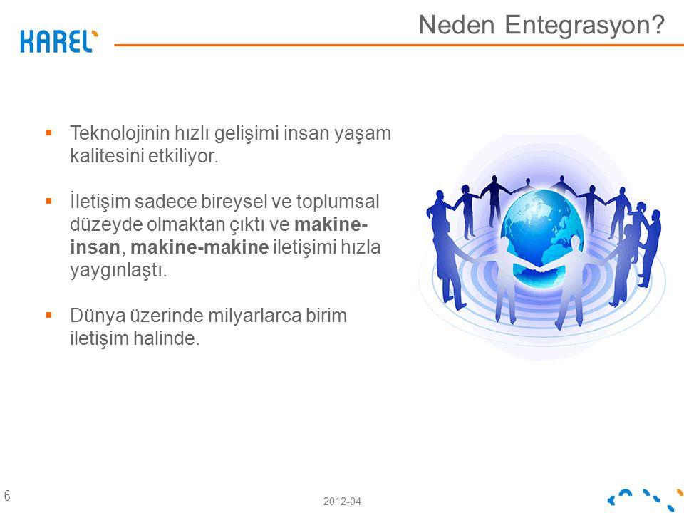 Neden Entegrasyon Teknolojinin hızlı gelişimi insan yaşam kalitesini etkiliyor.
