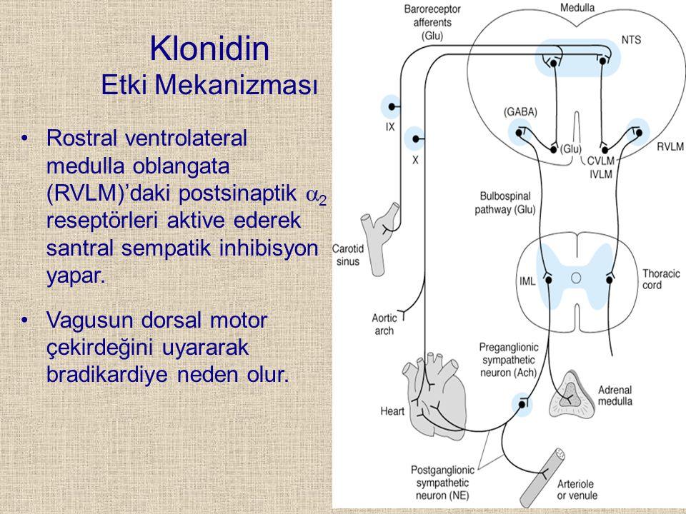 Klonidin Etki Mekanizması