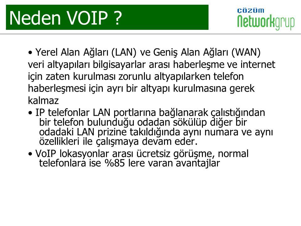 Neden VOIP • Yerel Alan Ağları (LAN) ve Geniş Alan Ağları (WAN)