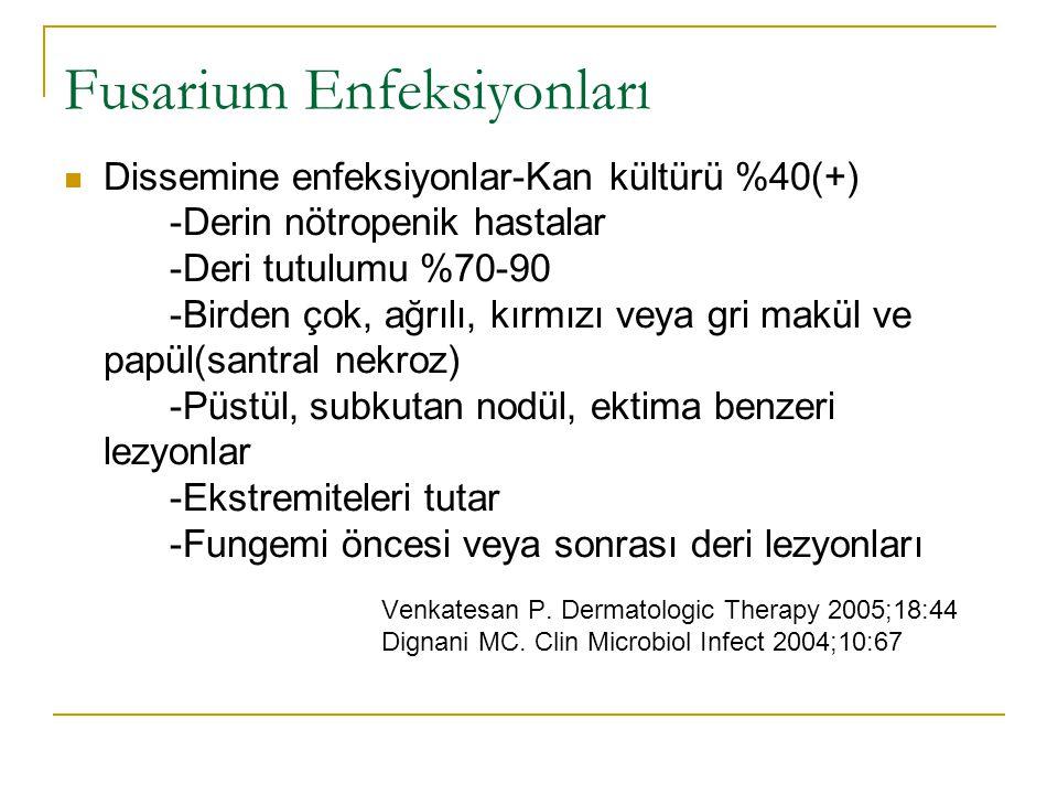 Fusarium Enfeksiyonları