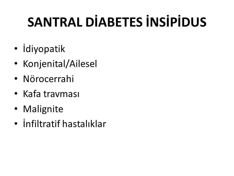 SANTRAL DİABETES İNSİPİDUS