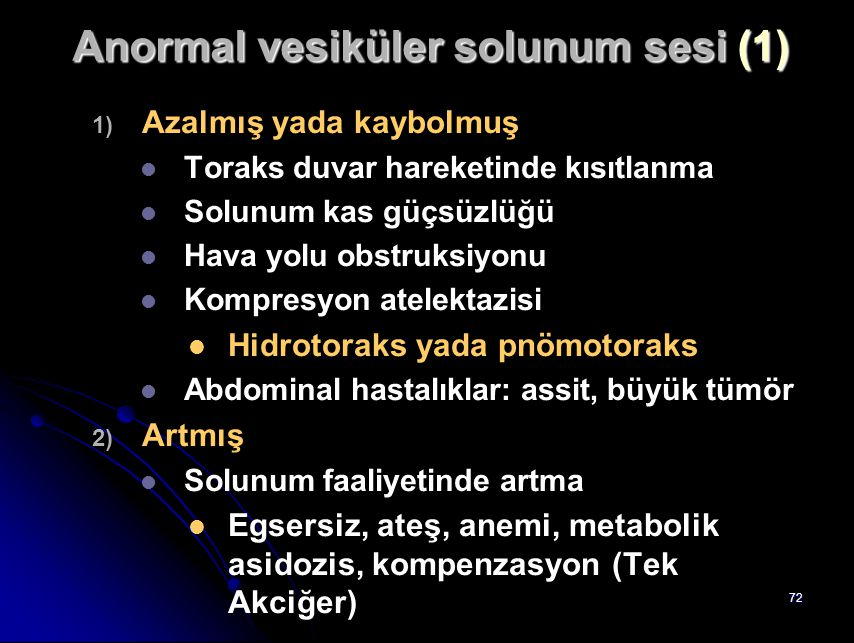Anormal vesiküler solunum sesi (1)