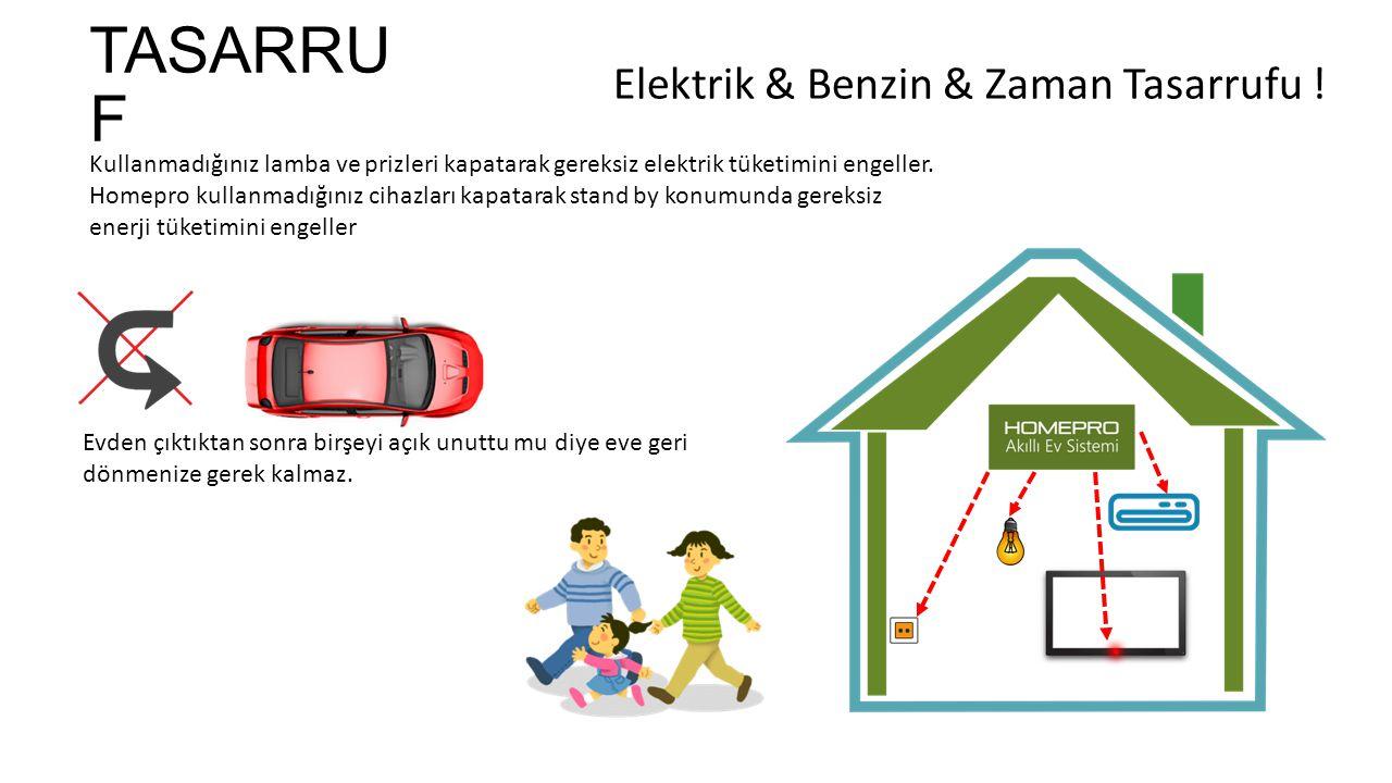 Elektrik & Benzin & Zaman Tasarrufu !