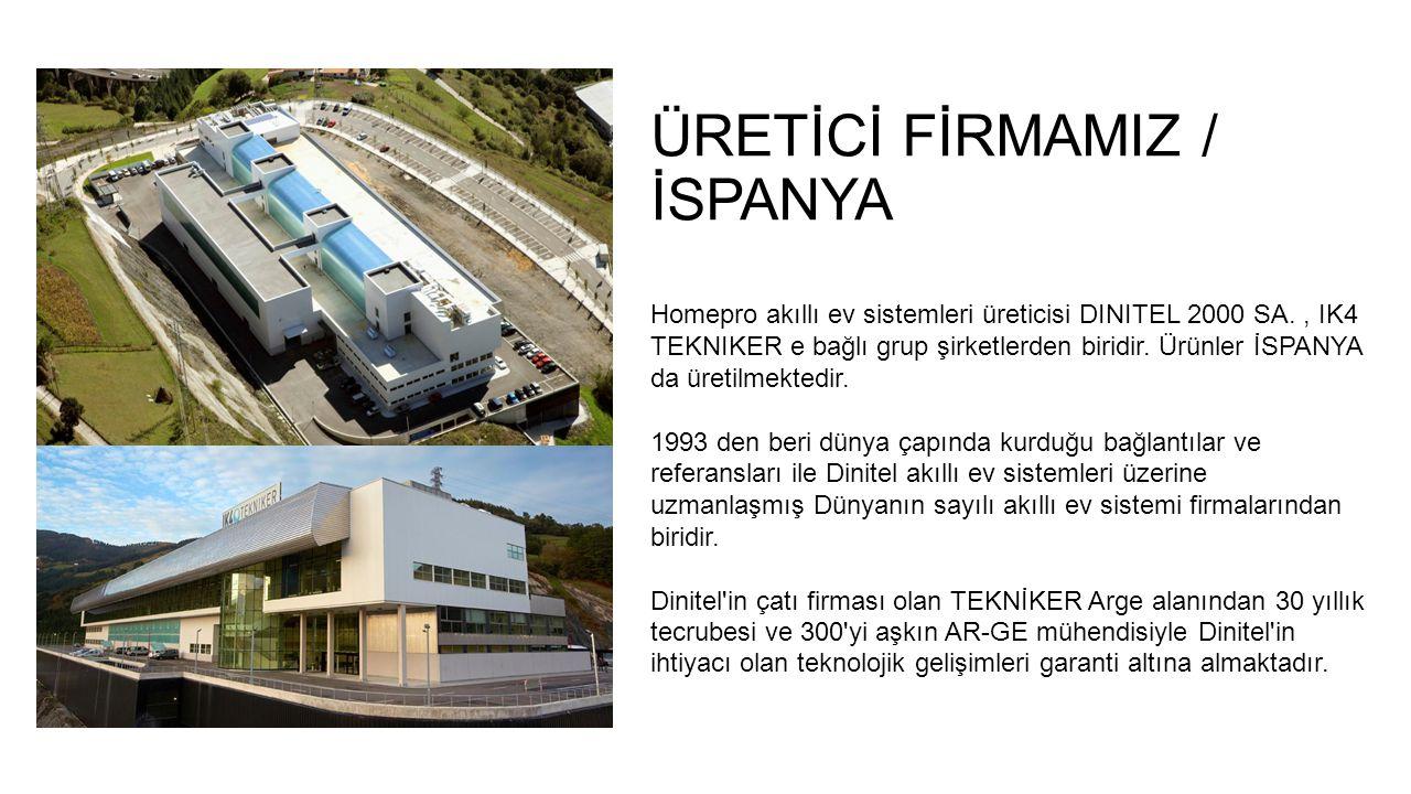 ÜRETİCİ FİRMAMIZ / İSPANYA