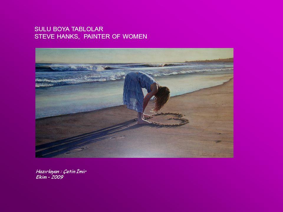 STEVE HANKS, PAINTER OF WOMEN