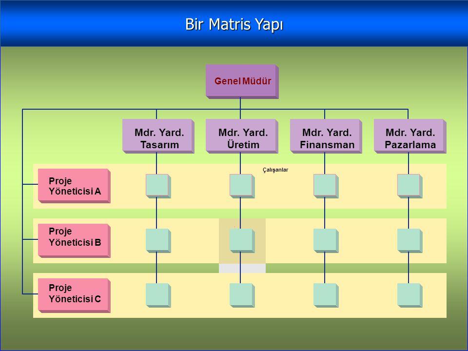 Bir Matris Yapı Mdr. Yard. Tasarım Üretim Finansman Pazarlama