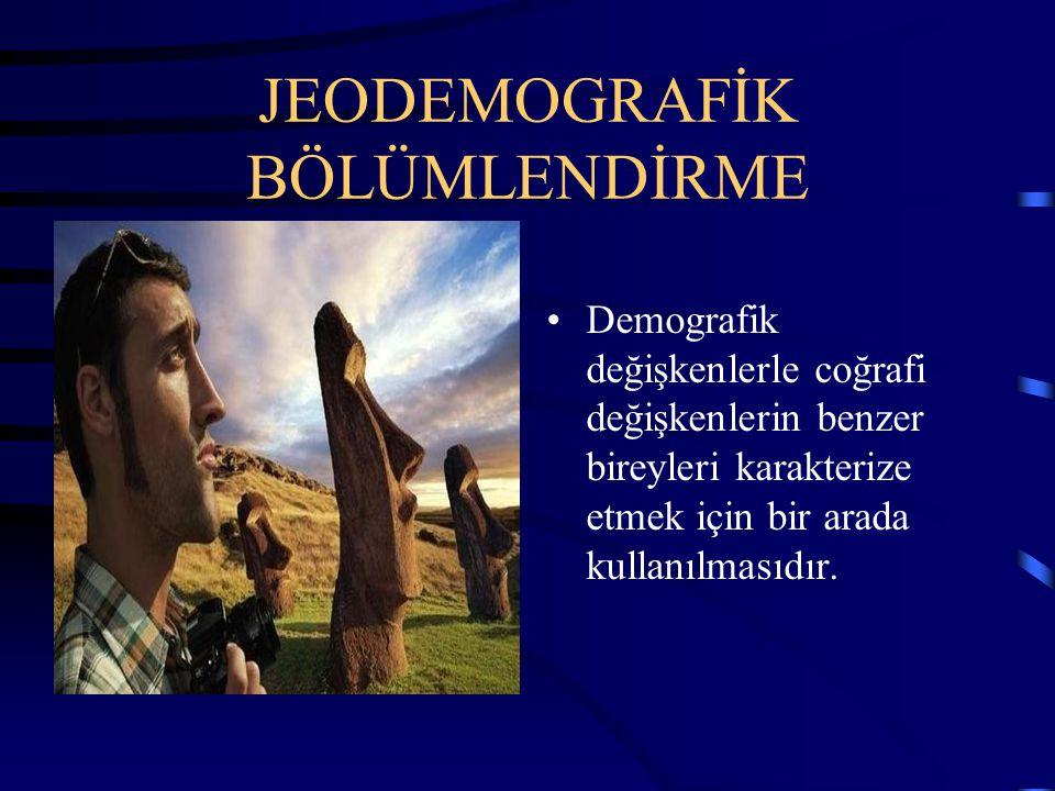 JEODEMOGRAFİK BÖLÜMLENDİRME