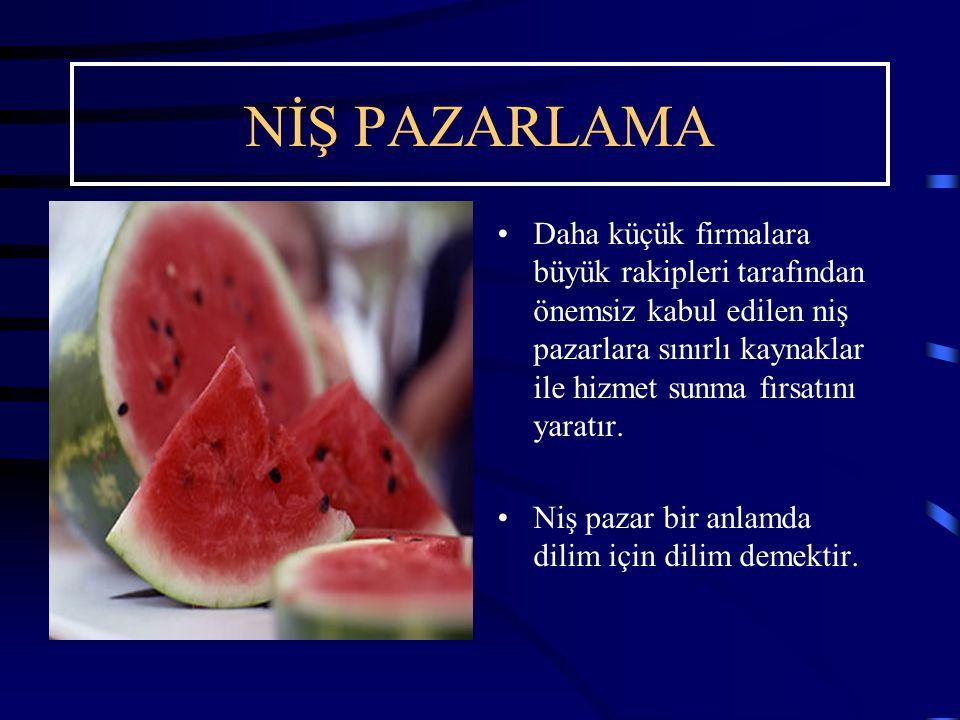 NİŞ PAZARLAMA