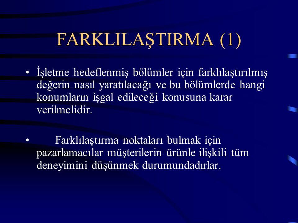 FARKLILAŞTIRMA (1)