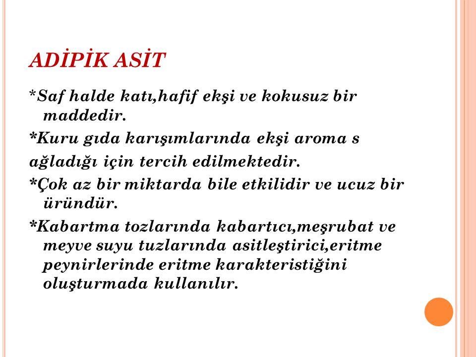 ADİPİK ASİT
