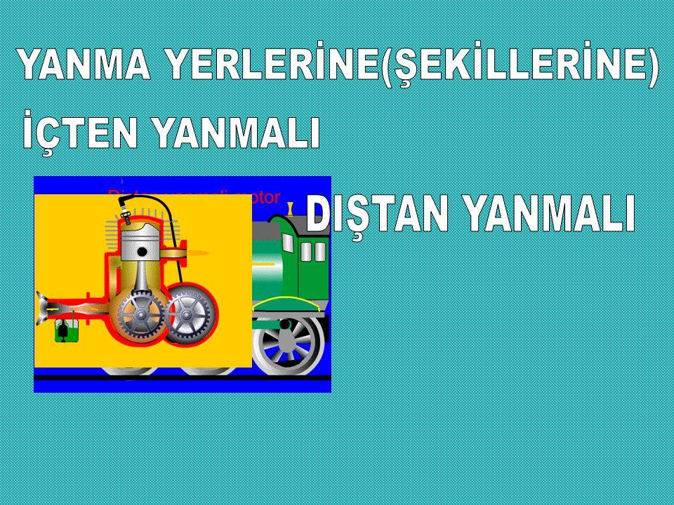 YANMA YERLERİNE(ŞEKİLLERİNE)