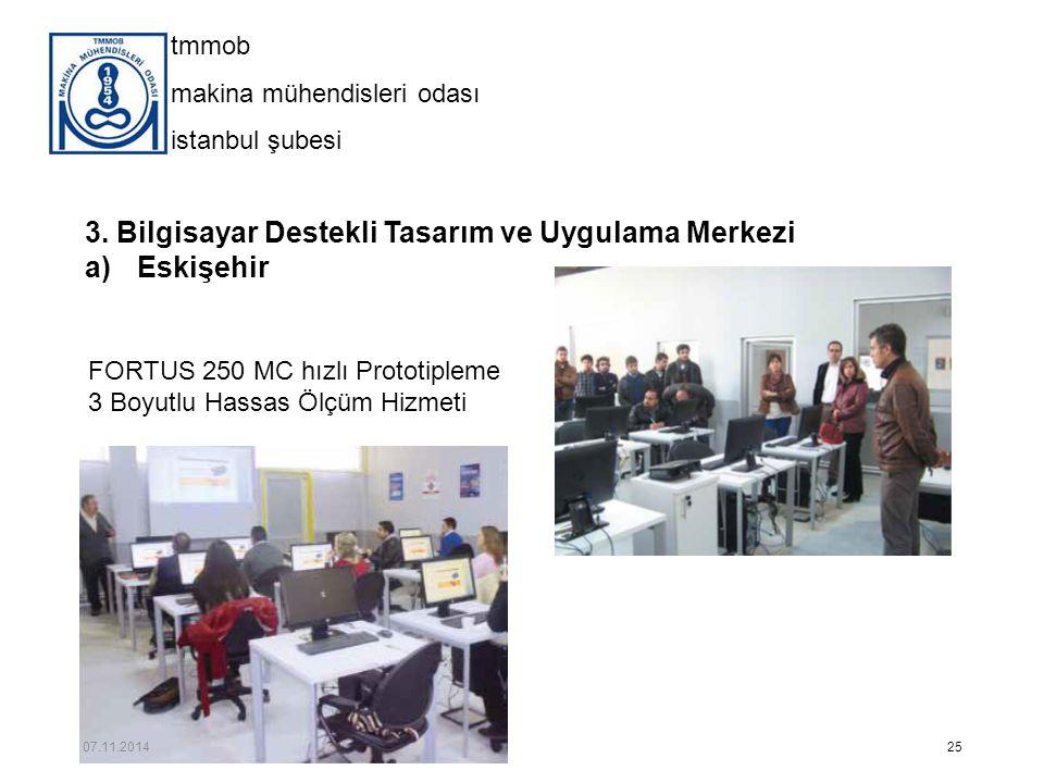 3. Bilgisayar Destekli Tasarım ve Uygulama Merkezi Eskişehir