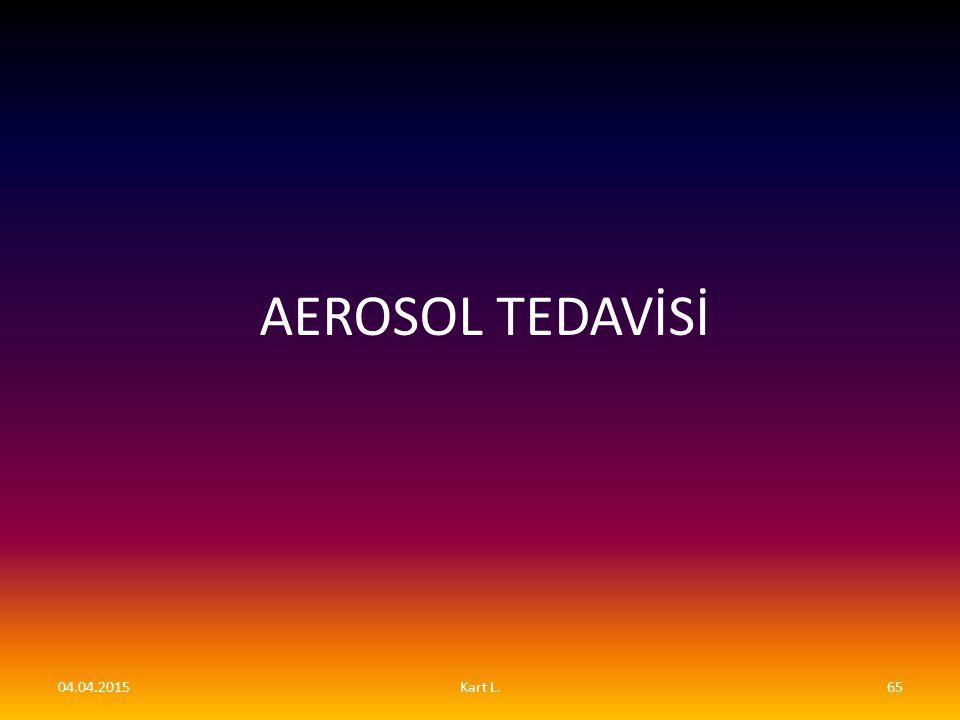 AEROSOL TEDAVİSİ 09.04.2017 Kart L.