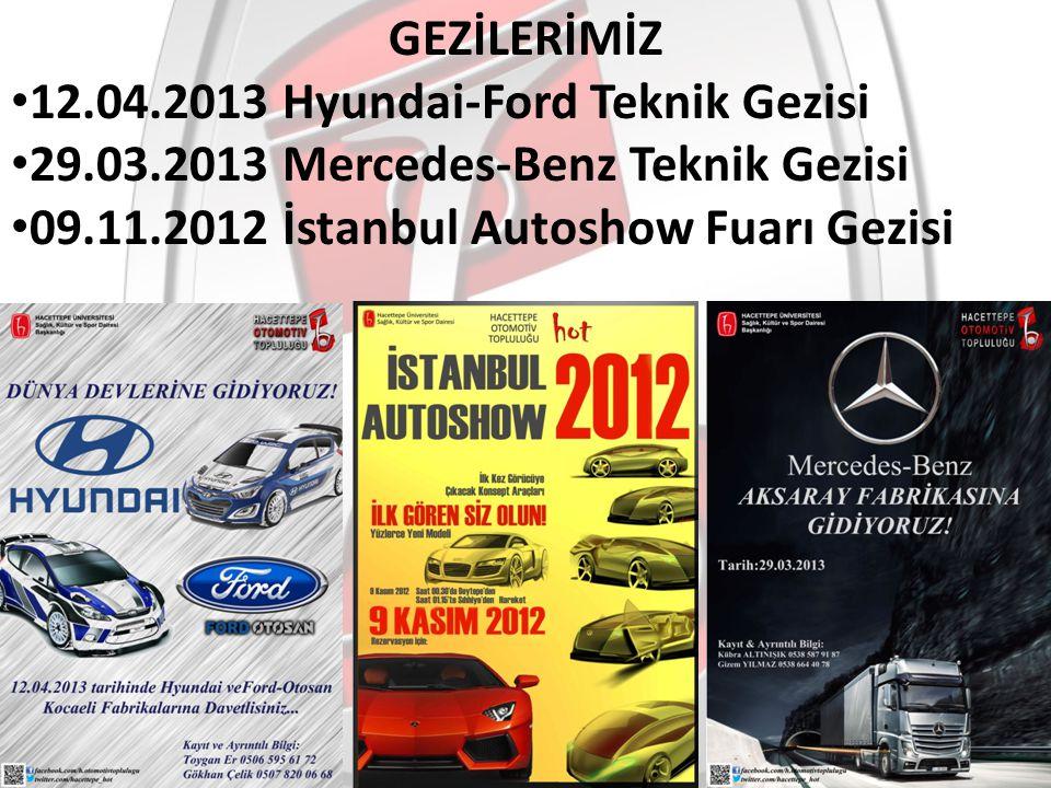 GEZİLERİMİZ 12.04.2013 Hyundai-Ford Teknik Gezisi.