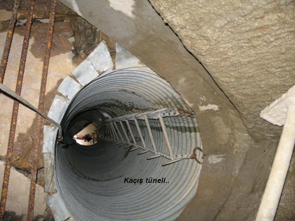 Kaçış tüneli..