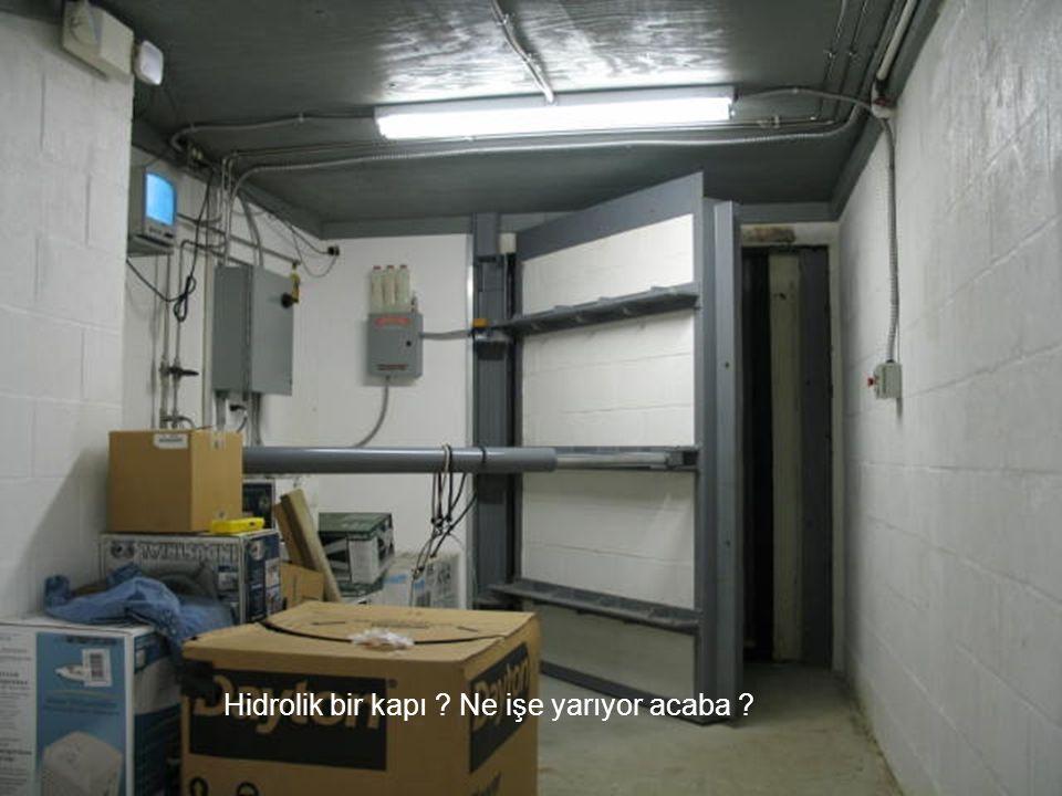 Hidrolik bir kapı Ne işe yarıyor acaba