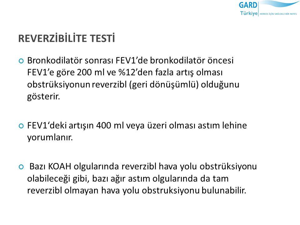 REVERZİBİLİTE TESTİ