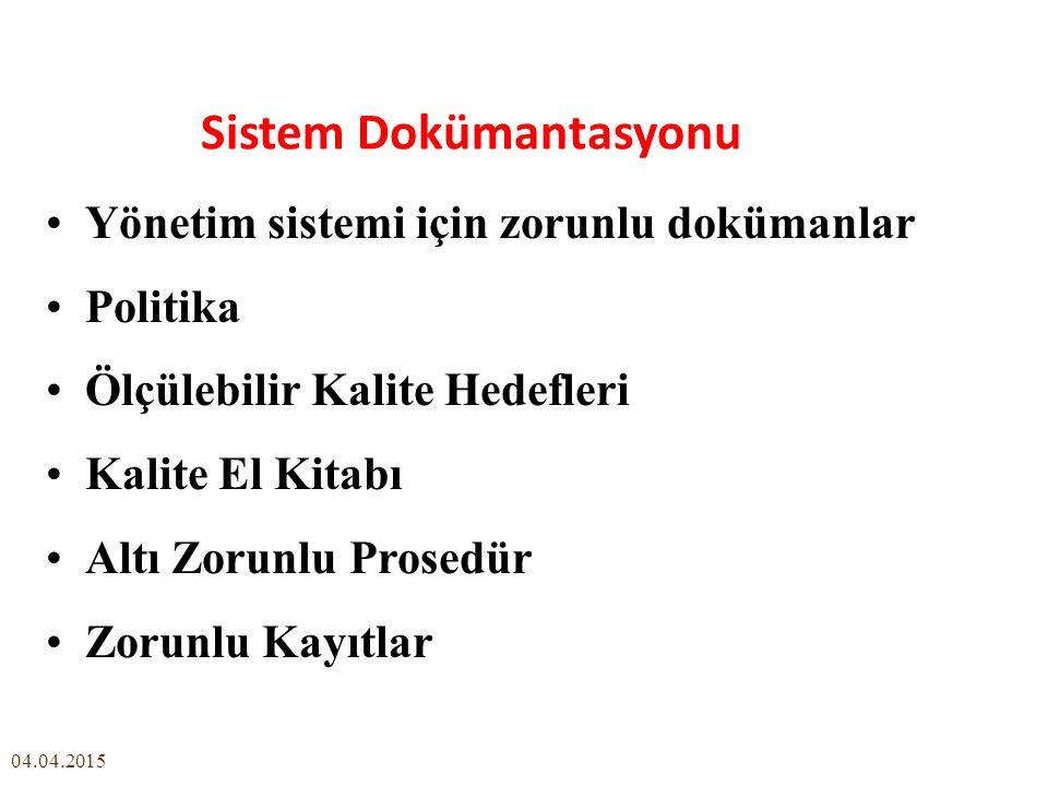 Sistem Dokümantasyonu