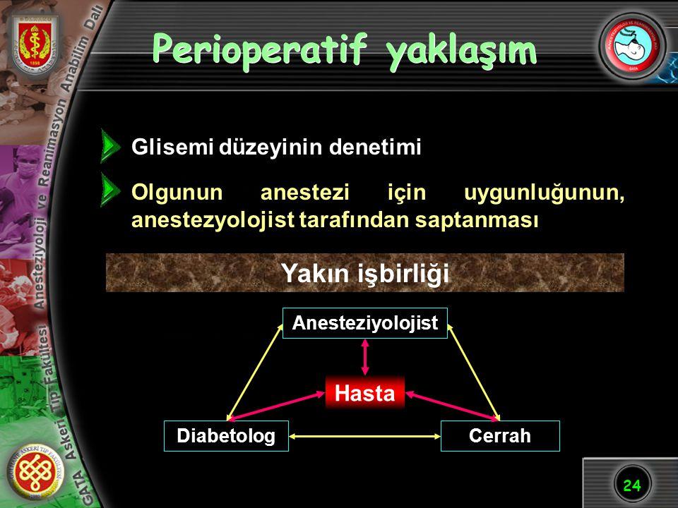 Perioperatif yaklaşım